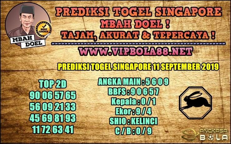 PREDIKSI TOGEL SINGAPORE 11 SEPTEMBER 2019