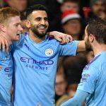 Hasil Liga Inggris : Man City Kalahkan Leicester