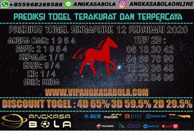 Prediksi Togel Singapore 12 Februari 2020