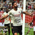 Giroud Bikin Gol dengan Sentuhan Pertama untuk AC Milan!